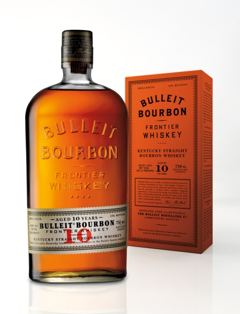 Bulleit 10_Bottle and box