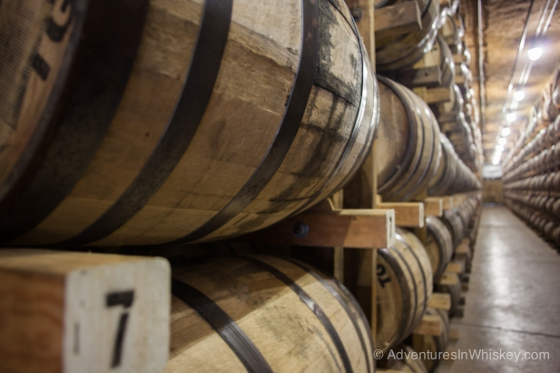 Barrels of aging goodness.