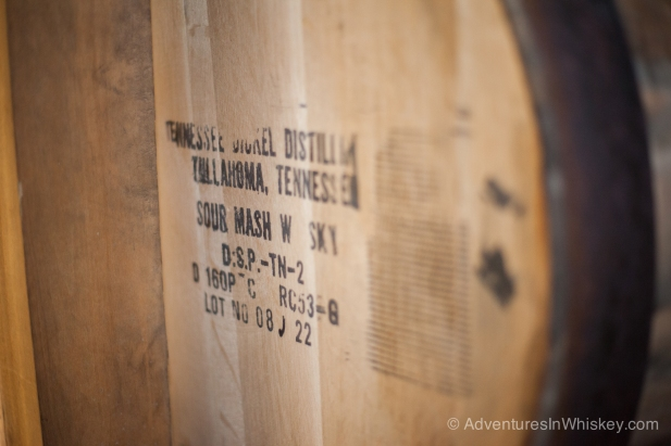 "The bottom line ""Lot No 08 J 22"" means this barrel was filled on December 22, 2008."