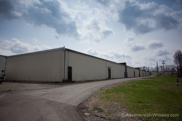 One of many single story warehouses at Cascade Hollow.