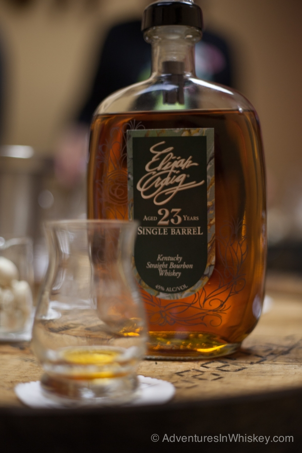 Sampling Elijah Craig 23 year old