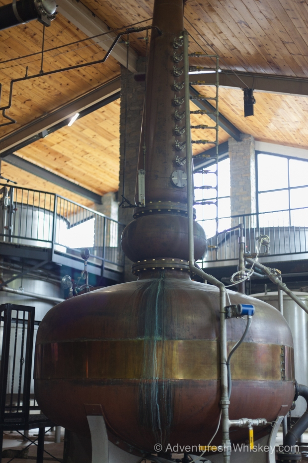 Willett's Pot Still Bourbon bottle is based on the design of this pot still.
