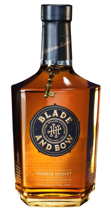 Blade and Bow Kentucky Straight Bourbon Whiskey_Bottle shot