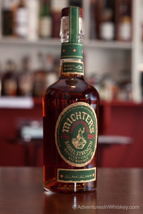 Michters Barrel Strength Rye