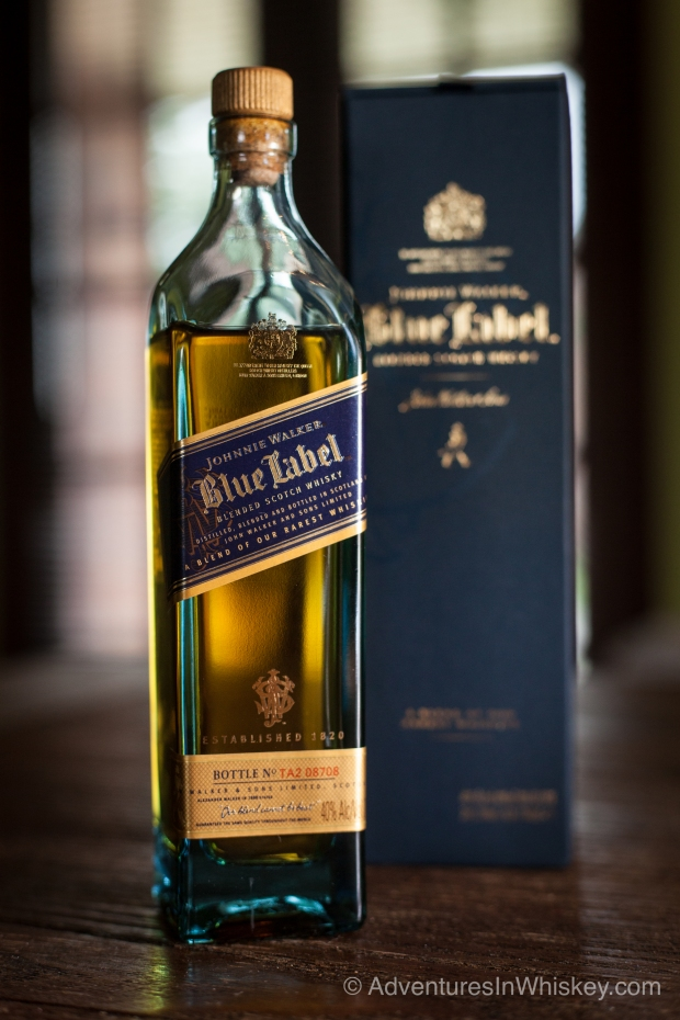 johnnie walker blue label scotch whisky review adventures in whiskey. Black Bedroom Furniture Sets. Home Design Ideas