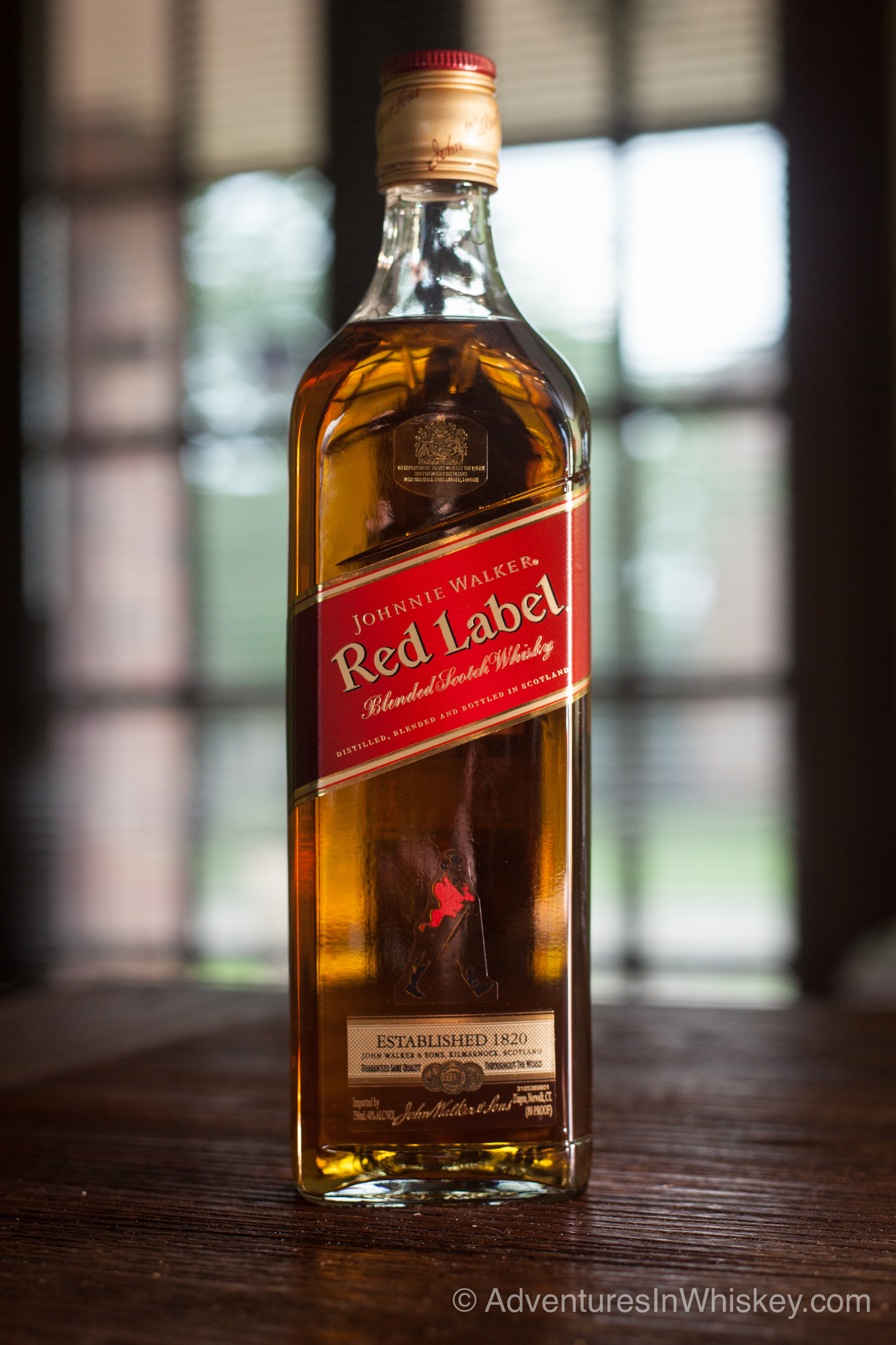 Johnnie Walker Red Label Scotch Whisky Review | Adventures