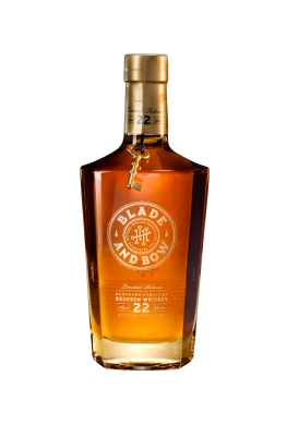 Blade and Bow 22-Year-Old Kentucky Straight Bourbon Whiskey_Bottle shot