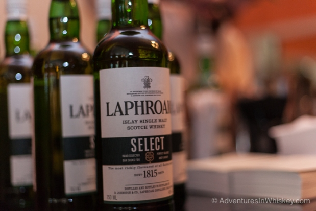 Suntory Laphroaig Bottles