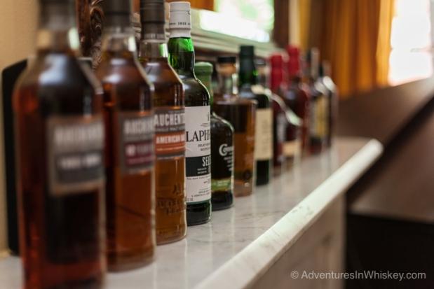 Suntory whisky lineup