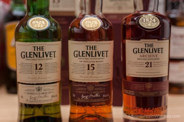Glenlivet LineUp