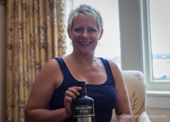 Highland Park Brand Manager Stephanie Ridgway