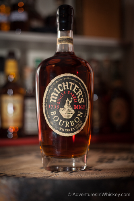 Michters 10yr bourbon