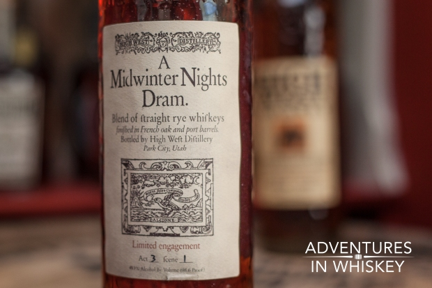 High West Midwinter Nights Dram 2