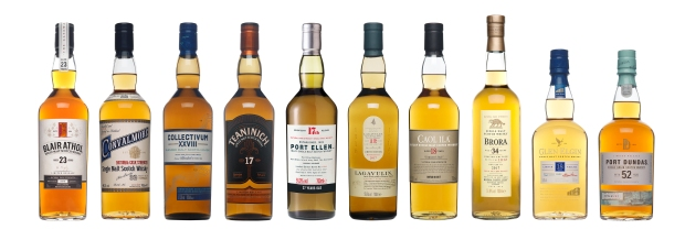 Diageo Special Releases 2017 Full Range